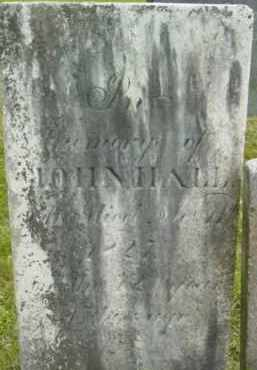 HALL, JOHN - Berkshire County, Massachusetts | JOHN HALL - Massachusetts Gravestone Photos