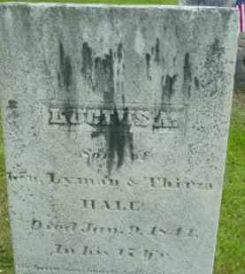 HALL, LUCIUS A - Berkshire County, Massachusetts   LUCIUS A HALL - Massachusetts Gravestone Photos