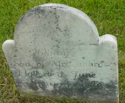 HALL, WILLIAM - Berkshire County, Massachusetts | WILLIAM HALL - Massachusetts Gravestone Photos