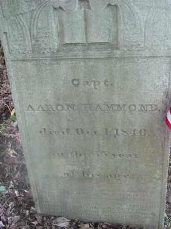 HAMMOND (1812), AARON - Berkshire County, Massachusetts   AARON HAMMOND (1812) - Massachusetts Gravestone Photos