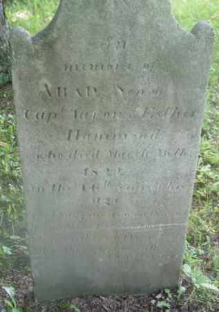HAMMOND, ARAD - Berkshire County, Massachusetts | ARAD HAMMOND - Massachusetts Gravestone Photos