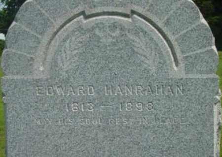 HANRAHAN, EDWARD - Berkshire County, Massachusetts   EDWARD HANRAHAN - Massachusetts Gravestone Photos