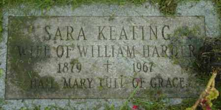KEATING HARDER, SARA - Berkshire County, Massachusetts | SARA KEATING HARDER - Massachusetts Gravestone Photos