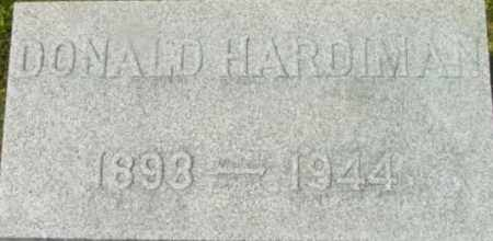 HARDIMAN, DONALD - Berkshire County, Massachusetts | DONALD HARDIMAN - Massachusetts Gravestone Photos