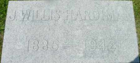 HARDIMAN, J WILLIS - Berkshire County, Massachusetts | J WILLIS HARDIMAN - Massachusetts Gravestone Photos