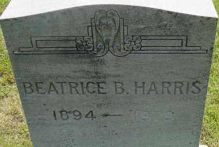 HARRIS, BEATRICE B - Berkshire County, Massachusetts | BEATRICE B HARRIS - Massachusetts Gravestone Photos