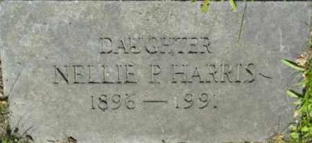 HARRIS, NELLIE P - Berkshire County, Massachusetts | NELLIE P HARRIS - Massachusetts Gravestone Photos