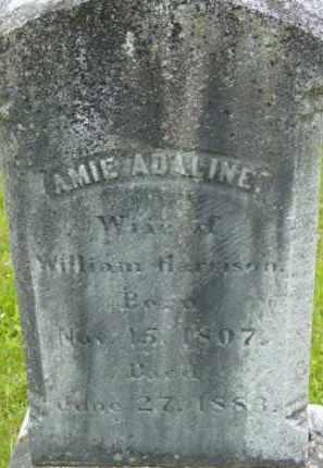 HARRISON, AMIE ADALINE - Berkshire County, Massachusetts   AMIE ADALINE HARRISON - Massachusetts Gravestone Photos