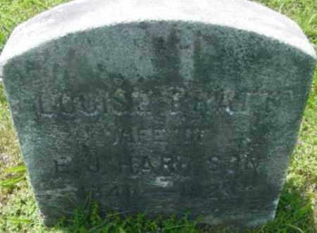 PRATT, LOUISE - Berkshire County, Massachusetts | LOUISE PRATT - Massachusetts Gravestone Photos
