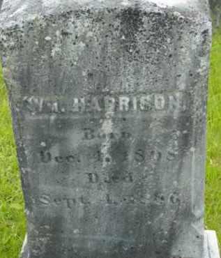 HARRISON, WILLIAM - Berkshire County, Massachusetts | WILLIAM HARRISON - Massachusetts Gravestone Photos
