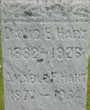 HART, AMABLE F - Berkshire County, Massachusetts | AMABLE F HART - Massachusetts Gravestone Photos