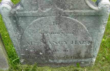 HART, NANCY - Berkshire County, Massachusetts | NANCY HART - Massachusetts Gravestone Photos