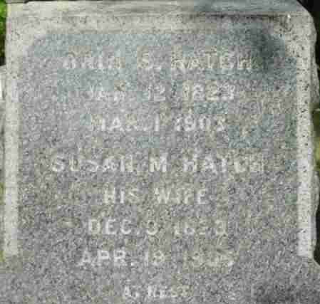 HATCH, ORIN S - Berkshire County, Massachusetts | ORIN S HATCH - Massachusetts Gravestone Photos
