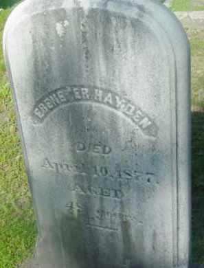 HAYDEN, EBENEZER - Berkshire County, Massachusetts | EBENEZER HAYDEN - Massachusetts Gravestone Photos