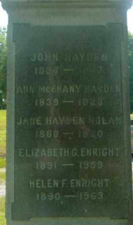 HAYDEN, JANE - Berkshire County, Massachusetts | JANE HAYDEN - Massachusetts Gravestone Photos