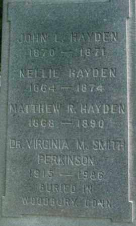 HAYDEN, NELLIE - Berkshire County, Massachusetts | NELLIE HAYDEN - Massachusetts Gravestone Photos