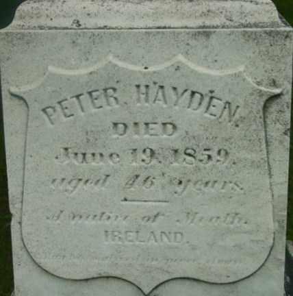HAYDEN, PETER - Berkshire County, Massachusetts | PETER HAYDEN - Massachusetts Gravestone Photos