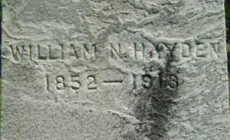 HAYDEN, WILLIAM N - Berkshire County, Massachusetts | WILLIAM N HAYDEN - Massachusetts Gravestone Photos