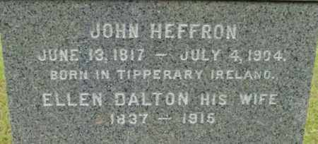 HEFFRON, ELLEN - Berkshire County, Massachusetts   ELLEN HEFFRON - Massachusetts Gravestone Photos