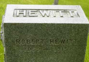 HEWITT, ROBERT - Berkshire County, Massachusetts | ROBERT HEWITT - Massachusetts Gravestone Photos