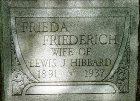 FRIEDERICH, FRIEDA - Berkshire County, Massachusetts | FRIEDA FRIEDERICH - Massachusetts Gravestone Photos