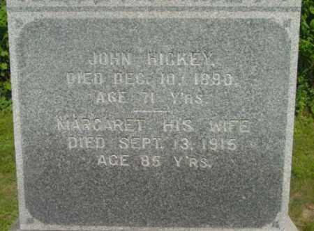 HICKEY, MARGARET - Berkshire County, Massachusetts | MARGARET HICKEY - Massachusetts Gravestone Photos