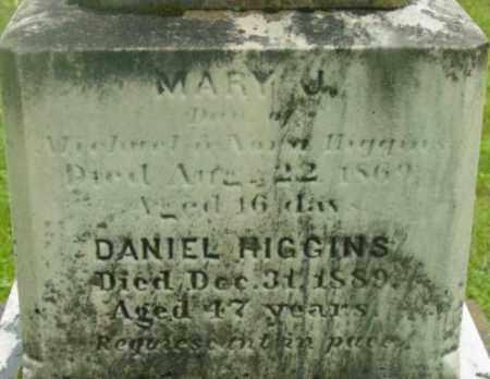 HIGGINS, MARY J - Berkshire County, Massachusetts | MARY J HIGGINS - Massachusetts Gravestone Photos