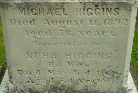 HIGGINS, NORA - Berkshire County, Massachusetts | NORA HIGGINS - Massachusetts Gravestone Photos
