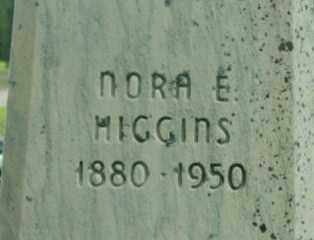 HIGGINS, NORA E - Berkshire County, Massachusetts | NORA E HIGGINS - Massachusetts Gravestone Photos