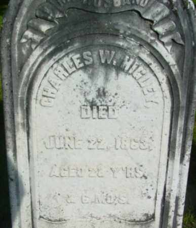 HIGLEY, CHARLES W - Berkshire County, Massachusetts | CHARLES W HIGLEY - Massachusetts Gravestone Photos