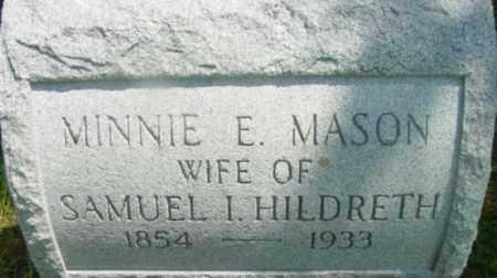 MASON, MINNIE E - Berkshire County, Massachusetts | MINNIE E MASON - Massachusetts Gravestone Photos
