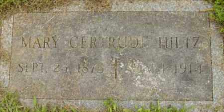 HILTZ, MARY GERTRUDE - Berkshire County, Massachusetts | MARY GERTRUDE HILTZ - Massachusetts Gravestone Photos