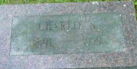 HINCKLEY, CHARLIE N - Berkshire County, Massachusetts | CHARLIE N HINCKLEY - Massachusetts Gravestone Photos