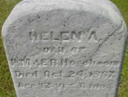 HOGOBOOM, HELEN A - Berkshire County, Massachusetts | HELEN A HOGOBOOM - Massachusetts Gravestone Photos