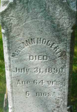 HOGERTY, ANN - Berkshire County, Massachusetts | ANN HOGERTY - Massachusetts Gravestone Photos