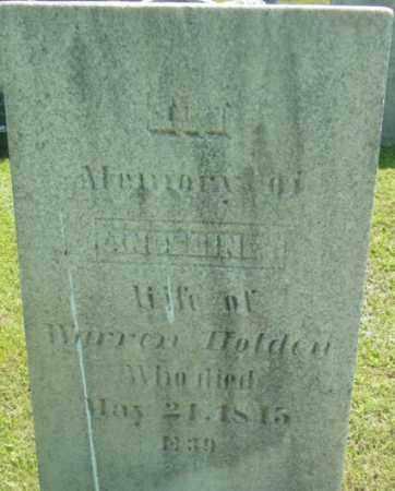 HOLDEN, ANGELINE - Berkshire County, Massachusetts | ANGELINE HOLDEN - Massachusetts Gravestone Photos