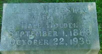 HOLDEN, ELLEN M - Berkshire County, Massachusetts   ELLEN M HOLDEN - Massachusetts Gravestone Photos