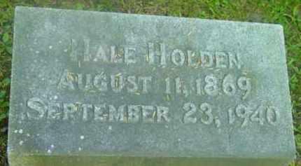 HOLDEN, HALE - Berkshire County, Massachusetts   HALE HOLDEN - Massachusetts Gravestone Photos