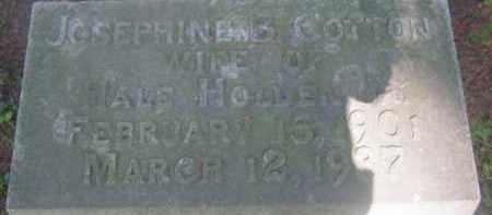 HOLDEN, JOSEPHINE B - Berkshire County, Massachusetts | JOSEPHINE B HOLDEN - Massachusetts Gravestone Photos