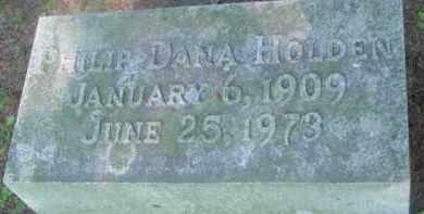 HOLDEN, PHILIP DANA - Berkshire County, Massachusetts | PHILIP DANA HOLDEN - Massachusetts Gravestone Photos
