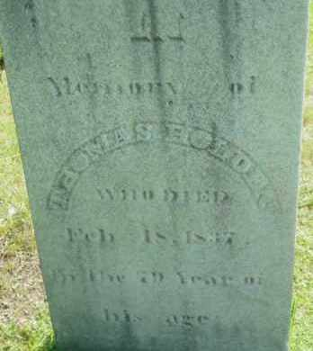 HOLDEN, THOMAS - Berkshire County, Massachusetts | THOMAS HOLDEN - Massachusetts Gravestone Photos