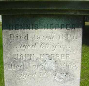 HOPPER, DENNIS - Berkshire County, Massachusetts | DENNIS HOPPER - Massachusetts Gravestone Photos
