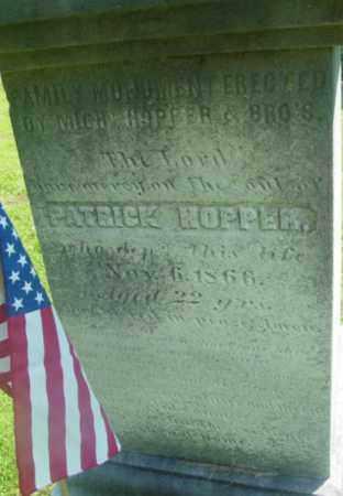 HOPPER, PATRICK - Berkshire County, Massachusetts   PATRICK HOPPER - Massachusetts Gravestone Photos