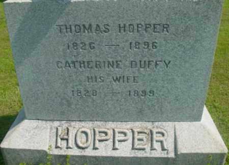 HOPPER, CATHERINE - Berkshire County, Massachusetts | CATHERINE HOPPER - Massachusetts Gravestone Photos