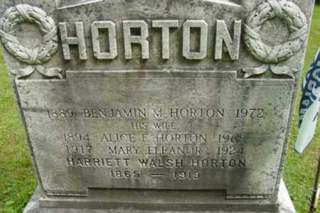 HORTON, HARRIETT - Berkshire County, Massachusetts | HARRIETT HORTON - Massachusetts Gravestone Photos