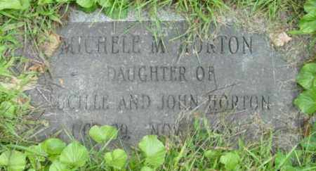 HORTON, MICHELE M - Berkshire County, Massachusetts | MICHELE M HORTON - Massachusetts Gravestone Photos