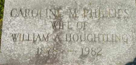 PHILLIPS, CAROLINE M - Berkshire County, Massachusetts | CAROLINE M PHILLIPS - Massachusetts Gravestone Photos