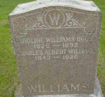WILLIAMS, CHARLES ALBERT - Berkshire County, Massachusetts | CHARLES ALBERT WILLIAMS - Massachusetts Gravestone Photos