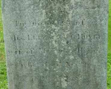 HOVEY, ELIZABETH - Berkshire County, Massachusetts   ELIZABETH HOVEY - Massachusetts Gravestone Photos