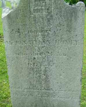 HOVEY, JONATHAN - Berkshire County, Massachusetts | JONATHAN HOVEY - Massachusetts Gravestone Photos